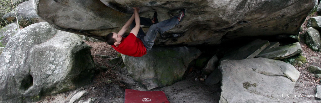 Bouldering w Fontainebleau