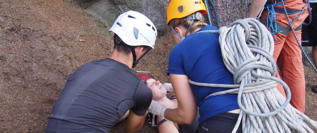 Kurs pierwszej pomocy i autoratownictwa skalnego