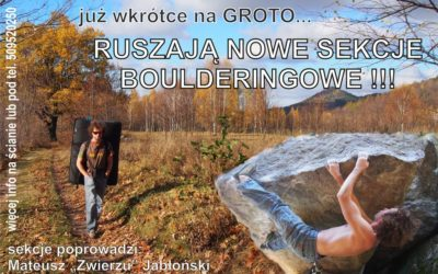 Nowe sekcje wspinaczkowe- Wrocław